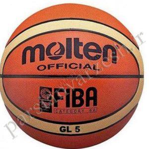 توپ بسکتبال GL5 مولتن