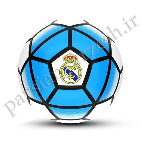 توپ فوتبال چرمی سایز ۵ باشگاهی رئال مادرید