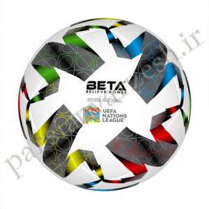توپ فوتبال چرمی سایز ۵ یورو ۲۰۲۱